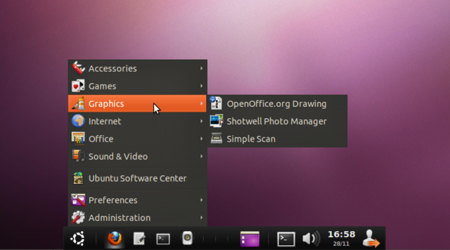 ADeskBar Combines Ubuntu's Taskbar and Menu Bar into One Feature-Filled Dock