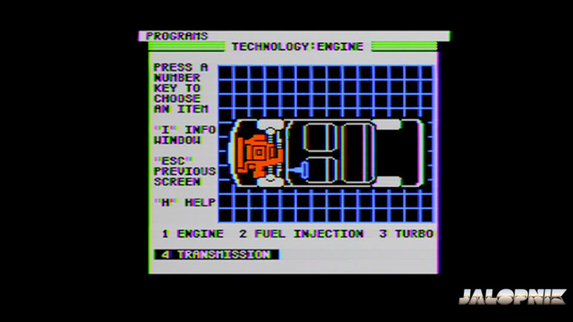 Buick Dimensions Apple II Disk