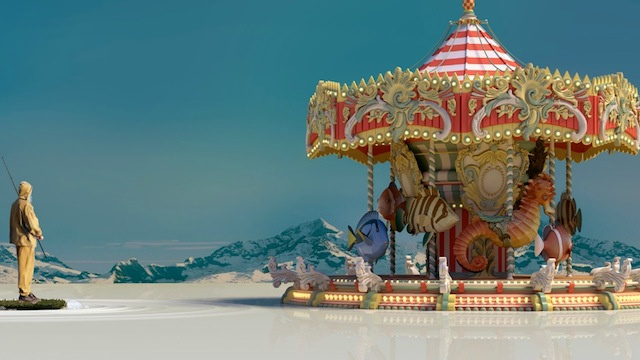Concept Art Writing Prompt: The Merry-Go-Round at the Top of the World