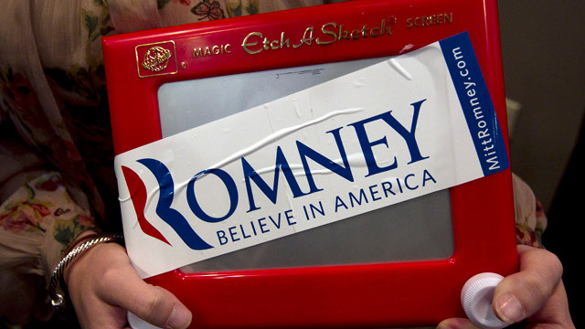 Etch A Sketch Gets Romney Bump