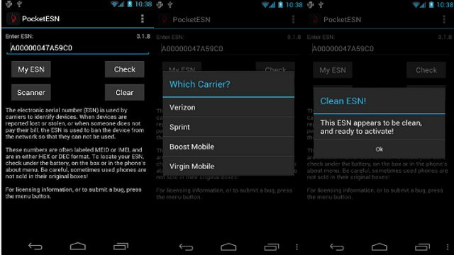 PocketESN Helps Used Android Buyers Avoid Blacklisted Phones
