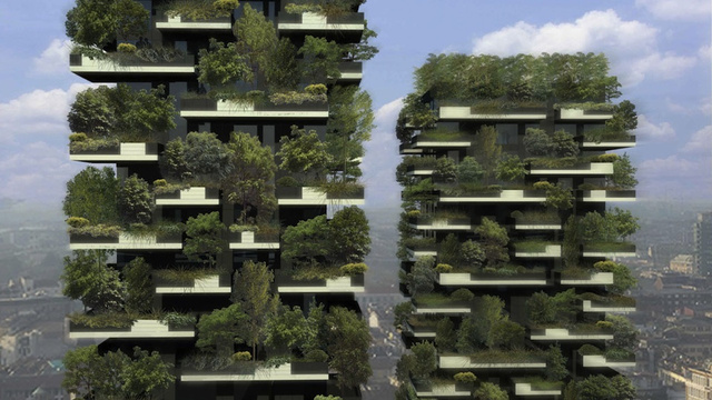 These vertical forests will soon dominate Milan's skyline