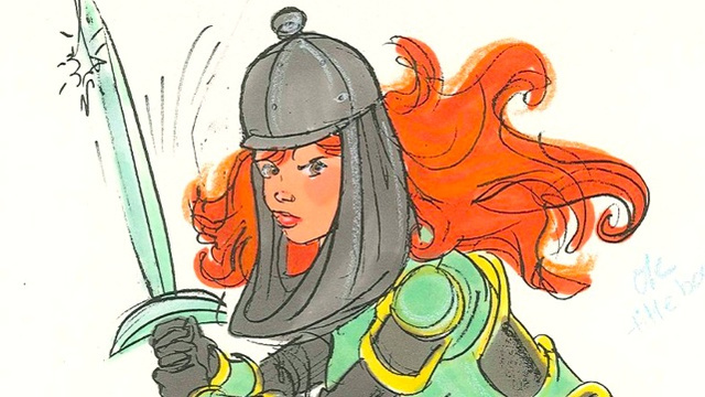 Check out art from the Lucasfilm Willow cartoon that never was