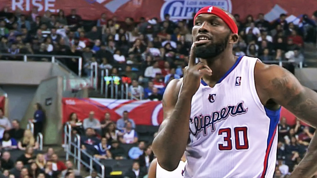 Reggie Evans Silenced A Heckler With A Simple Slip Of The Middle Finger