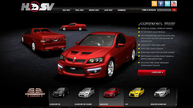 The Ten Best Carmaker Websites