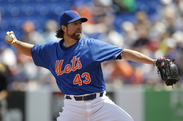 R.A. Dickey Says He Was Sexually Abused As A Child, Considered Suicide As An Adult