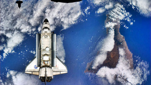 One of the Most Beautiful Images of the Space Shuttle