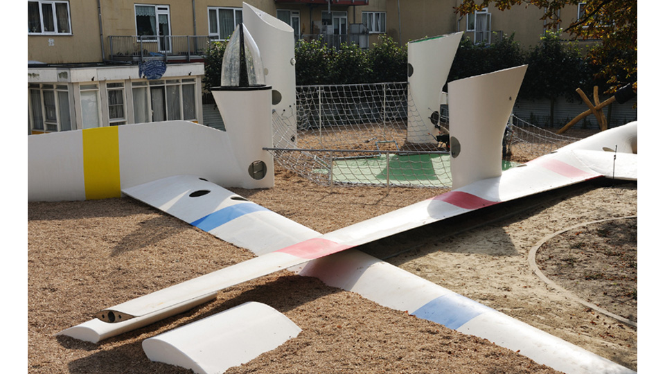 Click here to read Retired Wind Turbines Make For Fantastic Playground Equipment