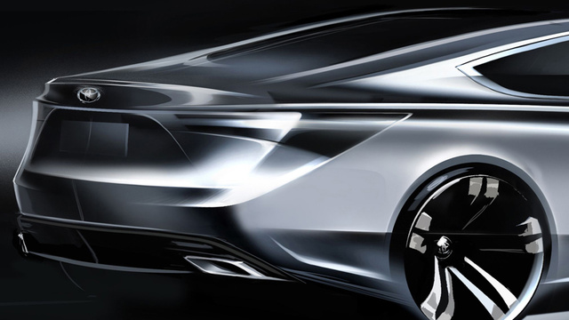 2013 Toyota Avalon: This Is Its Rear