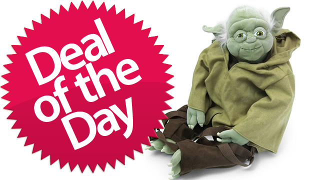 This Yoda Backpack Is Your A-Jedi-Craves-Not-These-Things Deal of the Day [Dealzmodo]