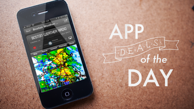 Daily App Deals: Get NOAA Weather Radio for iOS for $1.99 in Today's App Deals