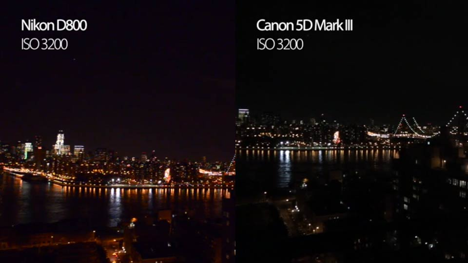 Nikon D800 vs. Canon 5D Mark III: Which Shoots Better Video?
