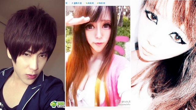 In China, Kids Are Turning into Anime Characters with Pointy Chins and Huge Eyes