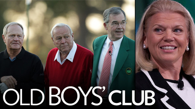 Will Augusta Finally Be Forced to Let a Woman Join?
