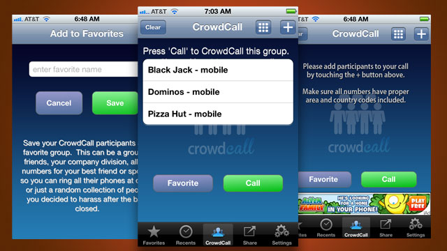 CrowdCall Is a Simple Way to Make Group Calls from Android and iPhone