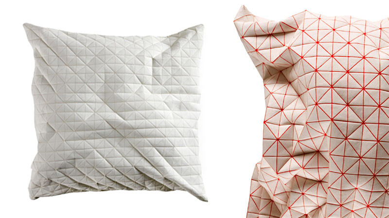 Click here to read Not Even a Robot Would Find These Polygonal Pillows Comfortable