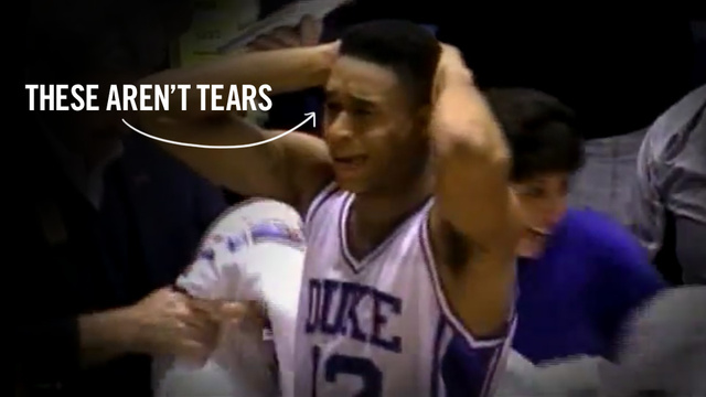 Thomas Hill, Duke's Famous Weeper, Finally Confesses: I Wasn't Crying