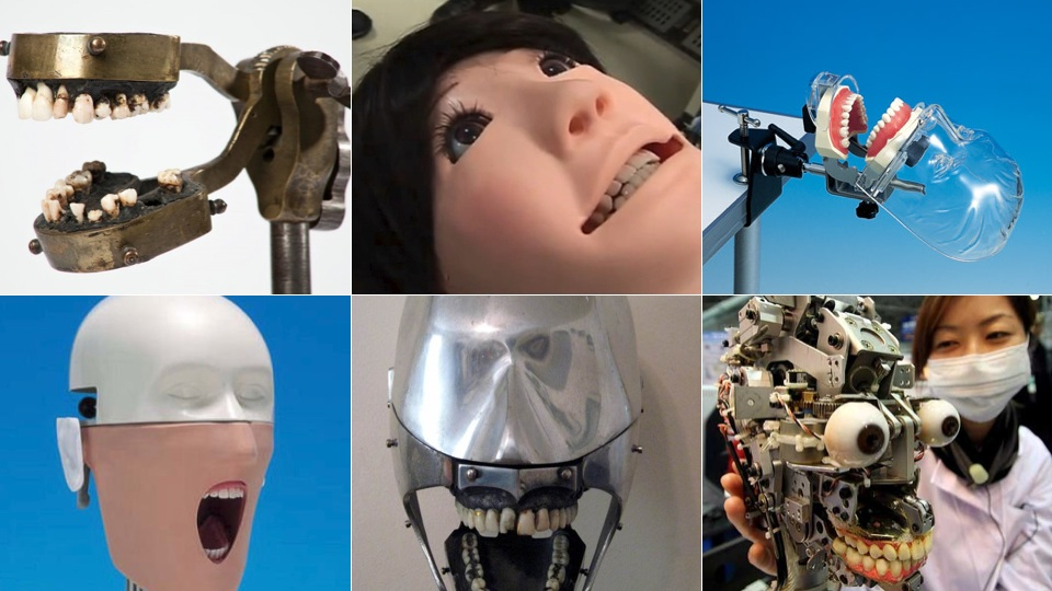 Click here to read These Silently Screaming Dental Mannequins Are What Nightmares Are Made Of