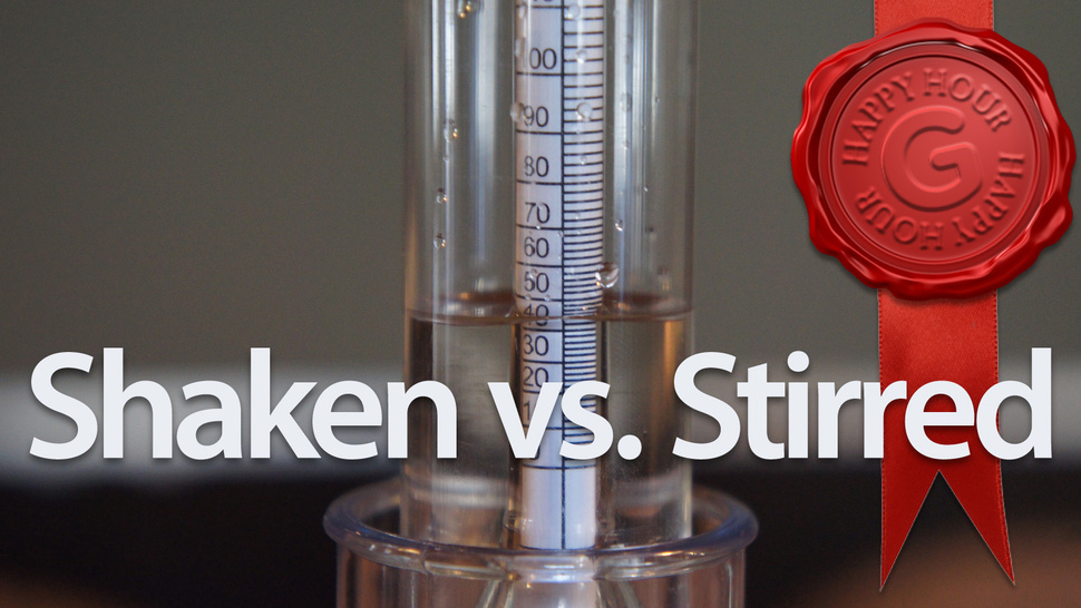 Shaken or Stirred: Which Gets You Drunker? A Scientific Exploration