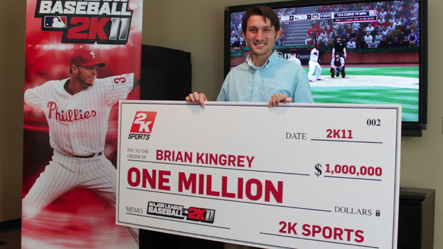 This Gaming Geek Shall Inherit MLB 2K11's Million-Dollar Prize