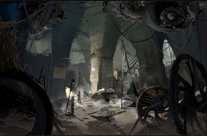 Here's Your Exclusive First Look at The Art of Portal 2 Book