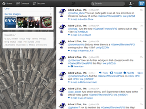 Why Is Atlus's Twitter Account a Game of Thrones Spam Bot? [UPDATE]