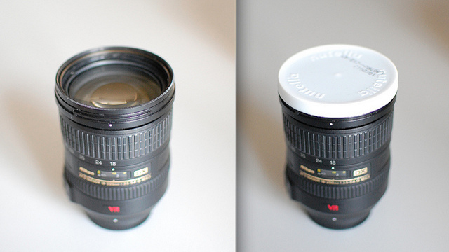 Click here to read Use a Nutella Lid as a Nikon Lens Cap