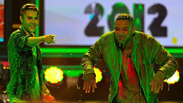 Nickelodeon Slimes a Variety of Pop Singers