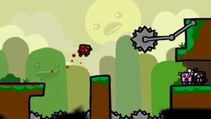 Here's the First Look at a Super Meat Boy Completely Reb