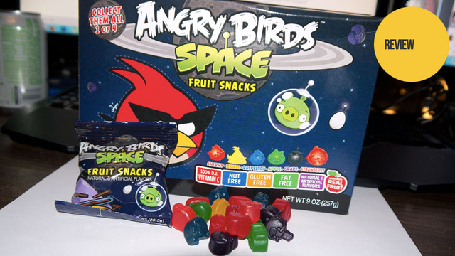 Angry Birds Space Fruit Snacks: The Snacktaku Review