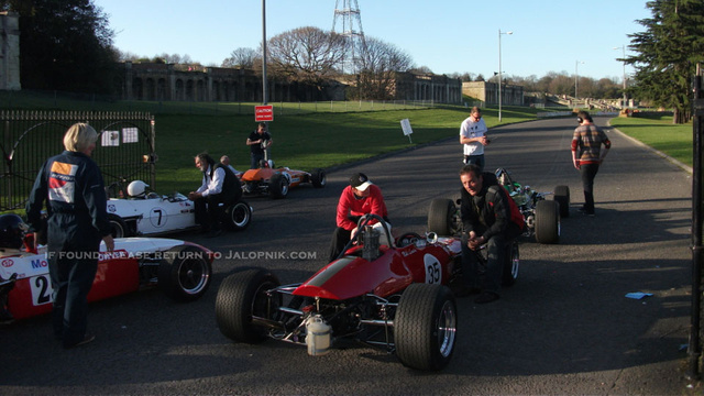 Spy Photos Of Ron Howard's Rush Shoot At Crystal Palace Circuit