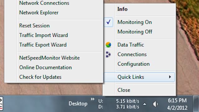 Click here to read NetSpeedMonitor Keeps Your Network Activity in the Taskbar, Shows You Bandwidth Reports On Demand