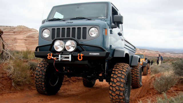 Jeep Mighty FC Concept: First Drive