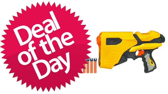 This Nerf Speedload 6 Is Your Don't-Take-Your-Guns-To-Town-Son Deal Of The Day [Dealzmodo]