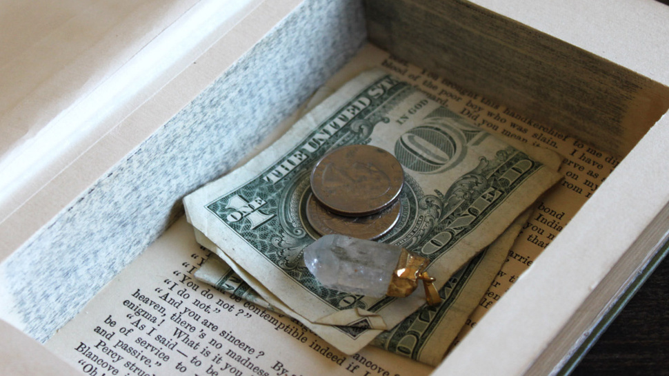 How To Make a Book Into an Incognito Stash Box