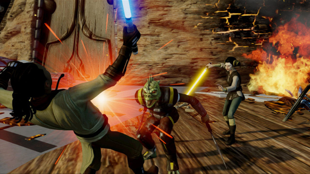 Kinect Star Wars Lures Game Critics to the Dark Side