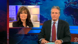 Jon Stewart Breaks Down Sarah Palin's Today Show Appearance