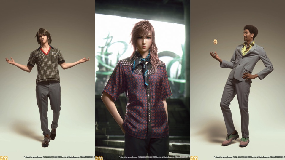 Final Fantasy Characters Are Now Modelling Italian Clothes ...