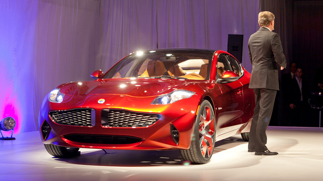Fisker Atlantic: Live Photos