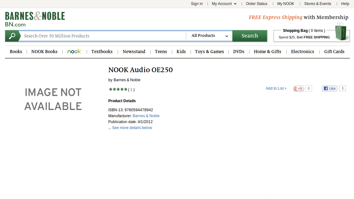 Click here to read What Is This Mysterious New Nook Audio Device?