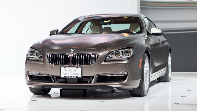 2013 BMW 6 Series Gran Coupe: Twice The Doors For Twice The Pricks