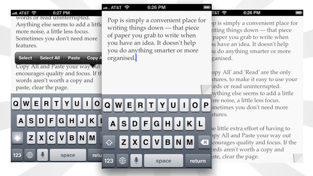 Click here to read Pop Is a Simple Notepad for Quickly Jotting Down and Vetting Notes
