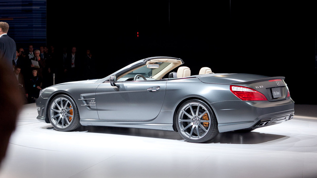 2013 Mercedes-Benz SL65 AMG V12 Roadster: First Photos