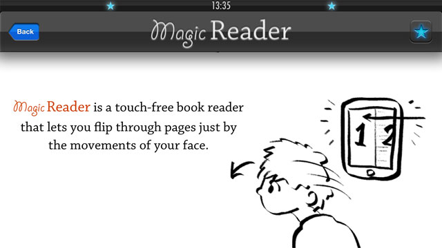 Click here to read MagicReader Flips Through PDF Pages with the Nod of Your Head, No Hands Required