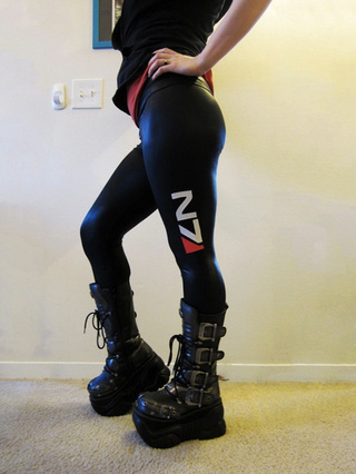 Now These Here Are Some Rockin' Mass Effect Leggings