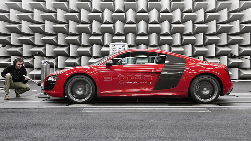 How Audi Makes Its Electric Cars Sound Like A Futuristic Gas Guzzler - Who makes audi cars
