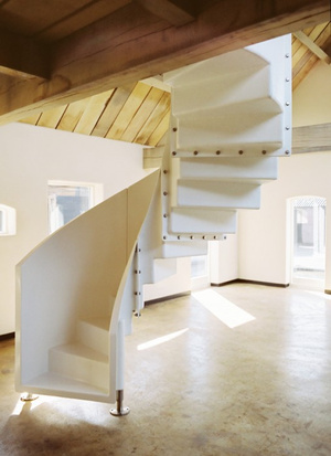 The Gorgeous Spiral Staircase You Can Put Literally Anywhere