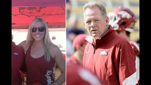 Bobby Petrino Had A 25-Year-Old Former Volleyball Player On His Motorcycle When He Crashed