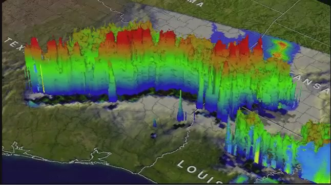 Click here to read NASA Made a Mindblowing 3D GIF of the Texas Tornadoes