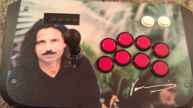 Rest Easy. There is now a Yanni Video Game Contoller.